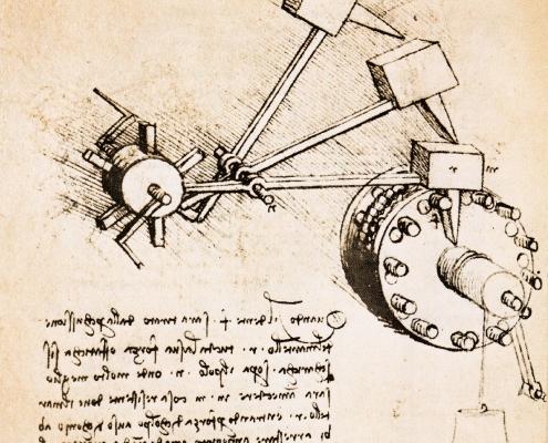 Leonardo - ingranaggi